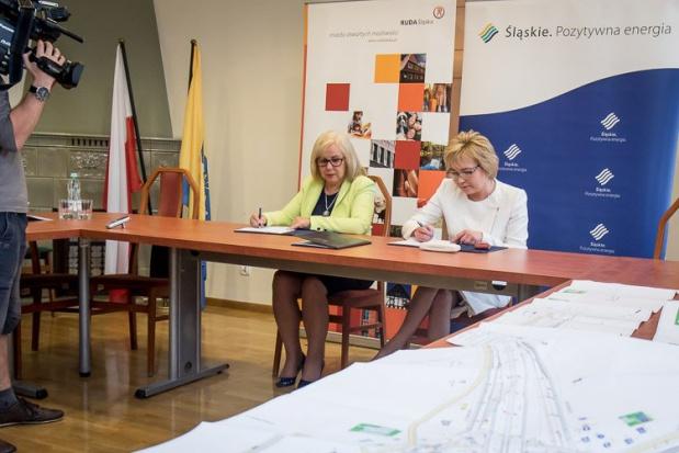 Ruda Śląska: Umowa na dofinansowanie trasy N-S podpisana