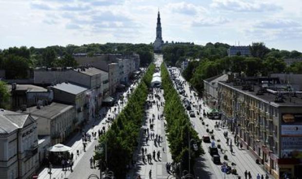 ŚDM: Będą zmiany w komunikacji miejskiej w Częstochowie. Na czas wizyty papieża