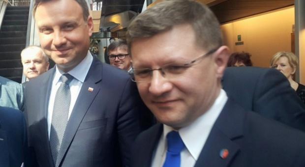 Radny z Żor Piotr Huzarewicz (foto: FB Piotr Huzarewicz)