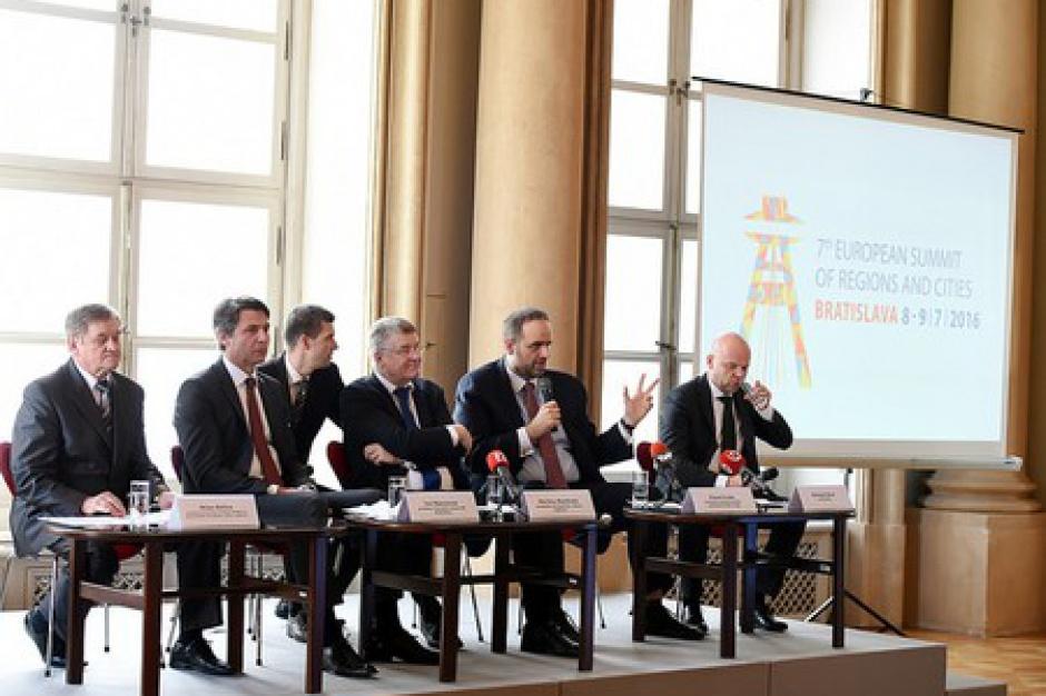 VII Europejski Szczyt Regionów i Miast: Marszałkowie jadą do Bratysławy dyskutować o potencjale regionów