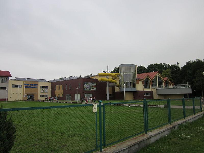 Park wodny w Redzikowie znajduje się niedaleko centrum Słupska (fot. wikipedia.org)