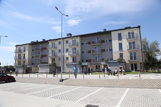Mieszkania Komunalne Płaszów (fot. Bogusław Świerzowski/krakow.pl)