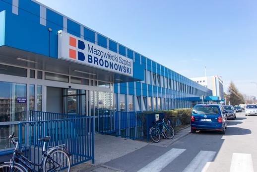 Szpital bródnowski otrzyma w tym roku 4,3 mln zł oraz 3,5 mln zł w 2017 r. (fot. szpital-brodnowski.waw.pl)