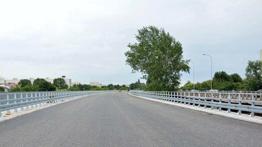 Estakada Katowicka - północna nitka gotowa na kierowców (fot. poznan.pl)