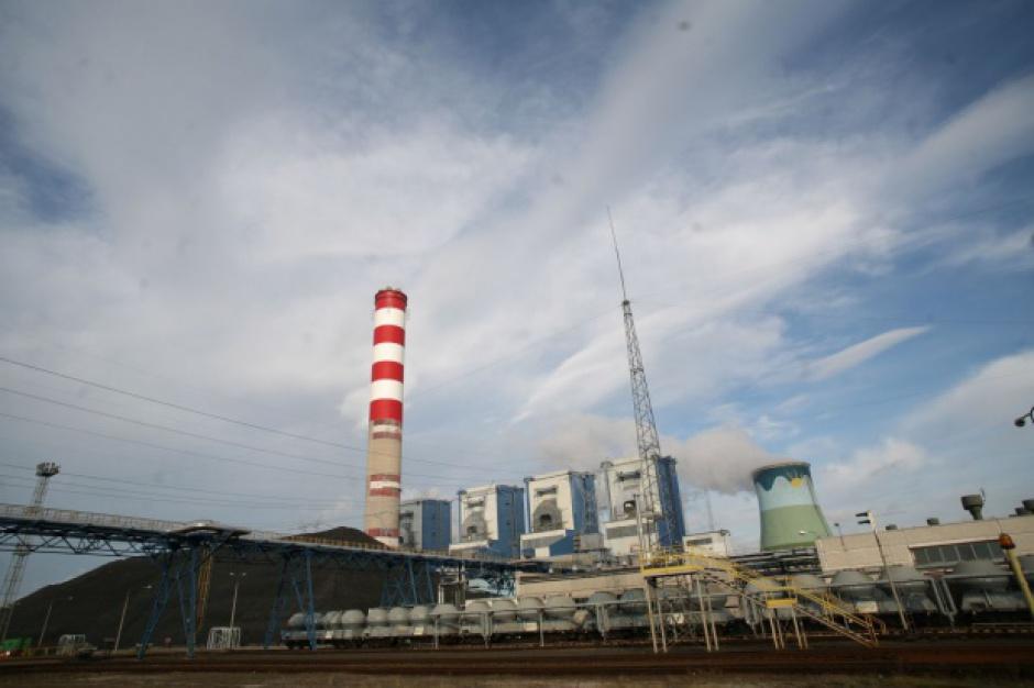 Protest podczas półmetka budowy Elektrowni Opole