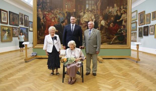 W Lublinie odznaczono pośmiertnie byłego urzędnika za ochronę obrazów Matejki