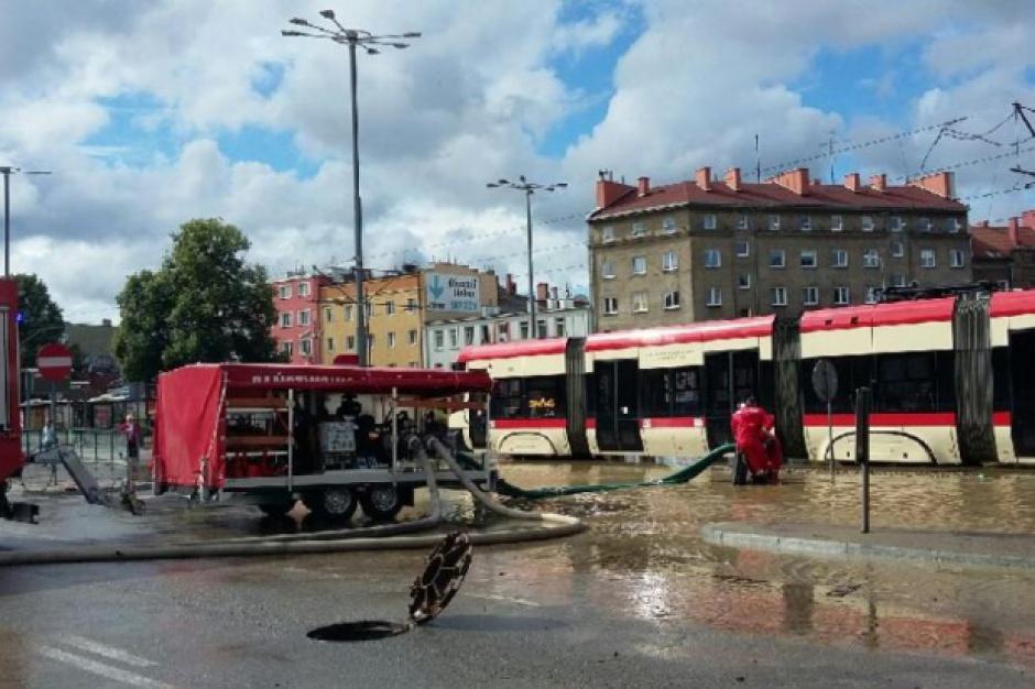 Gdańsk, ulewy: Tramwaje znów kursują. Ruch przywrócony
