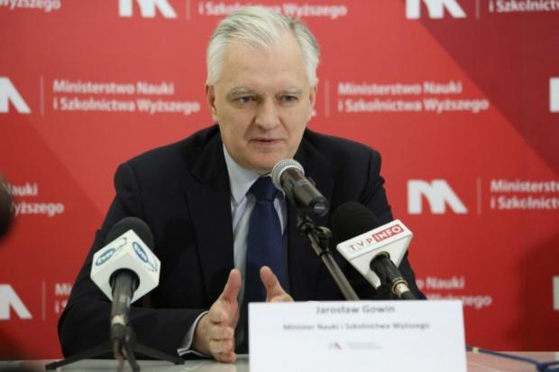 AWF Poznań, rekrutacja: Jarosław Gowin ma zastrzeżenia do władz uczelni