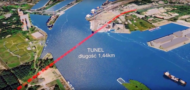 Świnoujście, tunel: 14 firm w przetargu na budowę tunelu