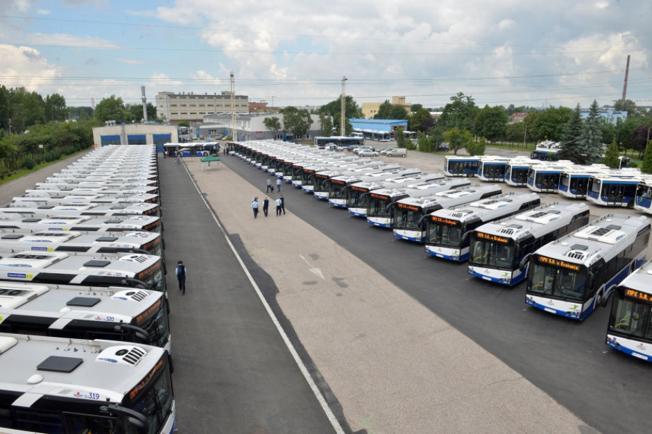 Kraków: MPK otrzymało 60 nowych autobusów