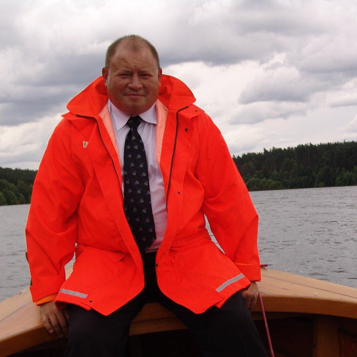 Dariusz Skalski - ekspert ratownictwa wodnego, instruktor i wykładowca WOPR (fot. FB)