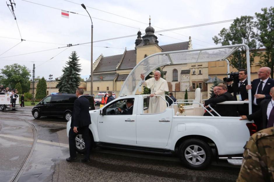 Papież Franciszek w Krakowie: wielka radość w stolicy Małopolski