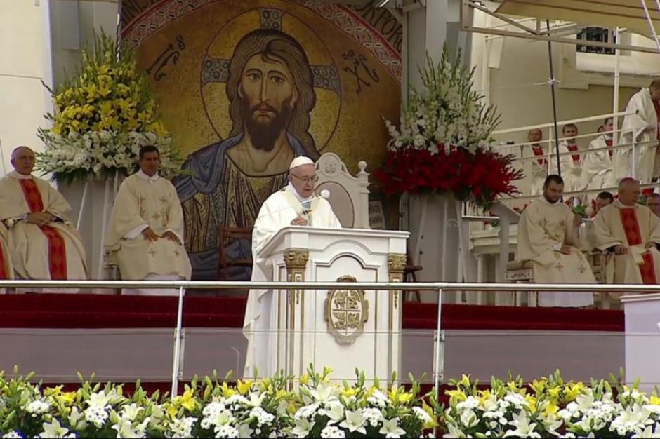 Papież Franciszek odprawił mszę świętą w Częstochowie