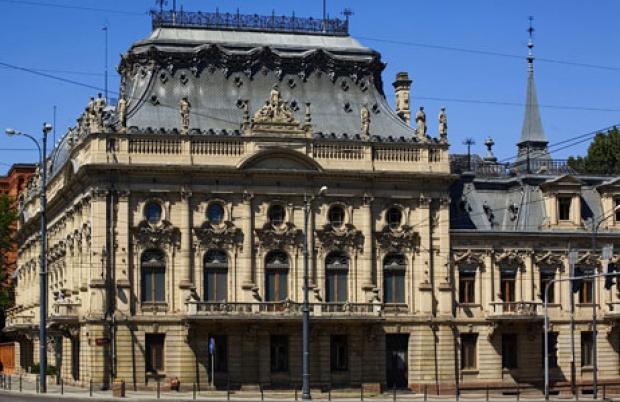 Łódź: W Pałacu Poznańskim trwają prace konserwatorskie