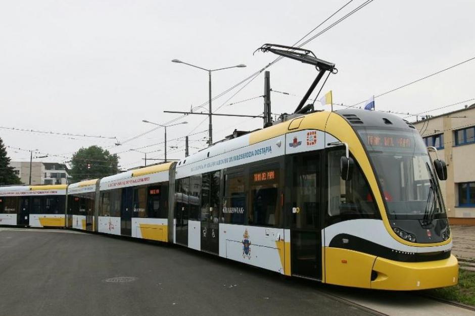 Po Światowych Dniach Młodzieży papieski tramwaj wrócił do ruchu