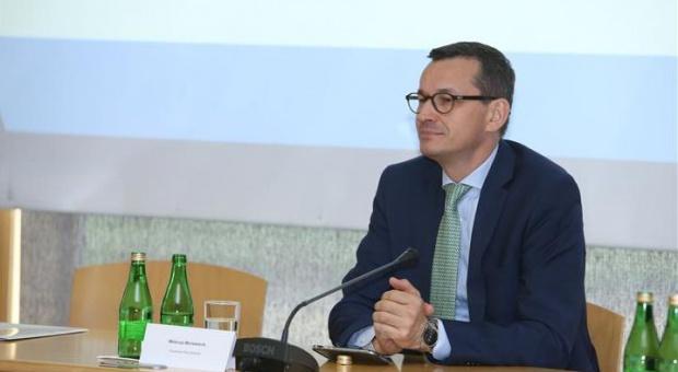Wicepremier Mateusz Morawiecki na spotkaniu z samorządowcami Opola (fot.opolskie.pl