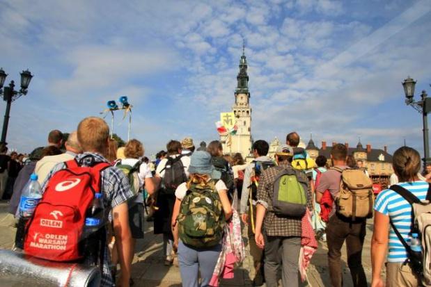 Częstochowa zapełnia się pielgrzymami z całej Polski