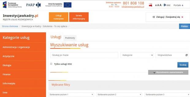 Nowa baza zastąpi Rejestr Usług Rozwojowych. Łatwiej znajdziesz potrzebne szkolenia