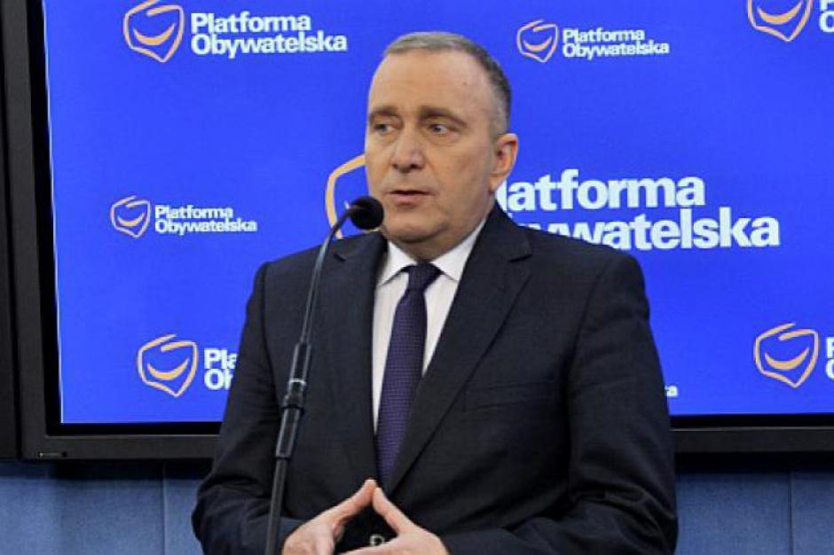 Reprywatyzacja w Warszawie: Schetyna chce ofensywnej odpowiedzi od Hanny Gronkiewicz-Waltz
