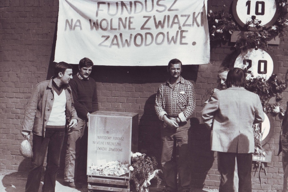 Szczecin w hołdzie uczestnikom strajków w Sierpniu 1980