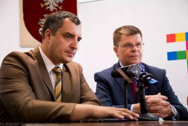 Podlaskie i Obwód Lwowski będą razem starać się o pieniądze z UE