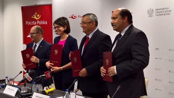 Sygnatariusze porozumienia (fot. mib.gov.pl)