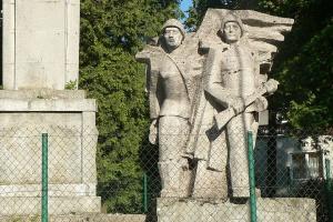 Rozbiorą pomnik wdzięczności Armii Czerwonej w Lidzbarku Warmińskim