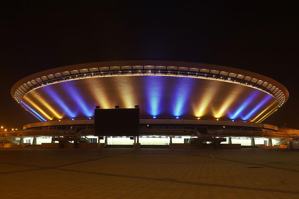 Ponadczasowa architektura Spodka do dziś robi wrażenie (fot. wikipedia)