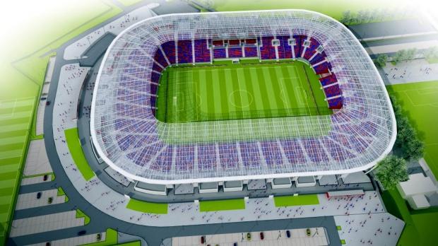 Tak będzie wyglądał stadion w Szczecinie