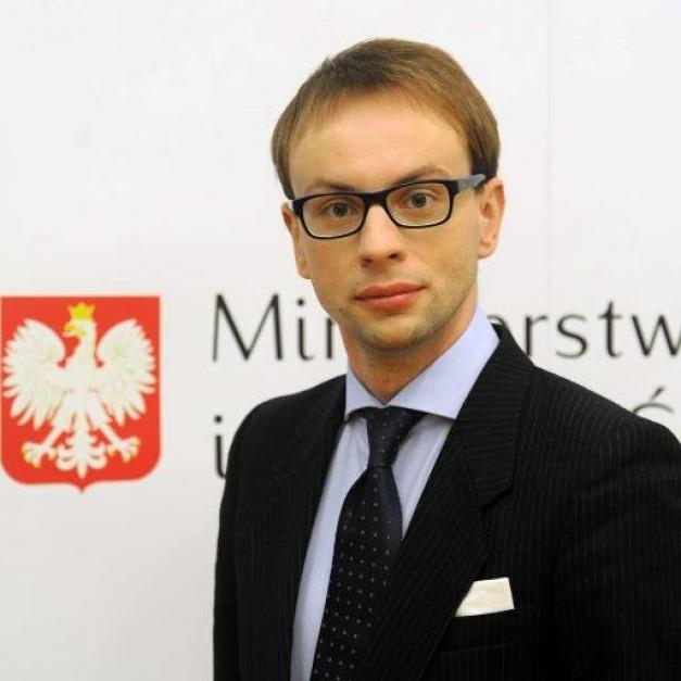 Krzysztof Kozłowski, podsekretarz stanu w Ministerstwie Gospodarki Morskiej i Żeglugi Śródlądowej (fot. twitter)