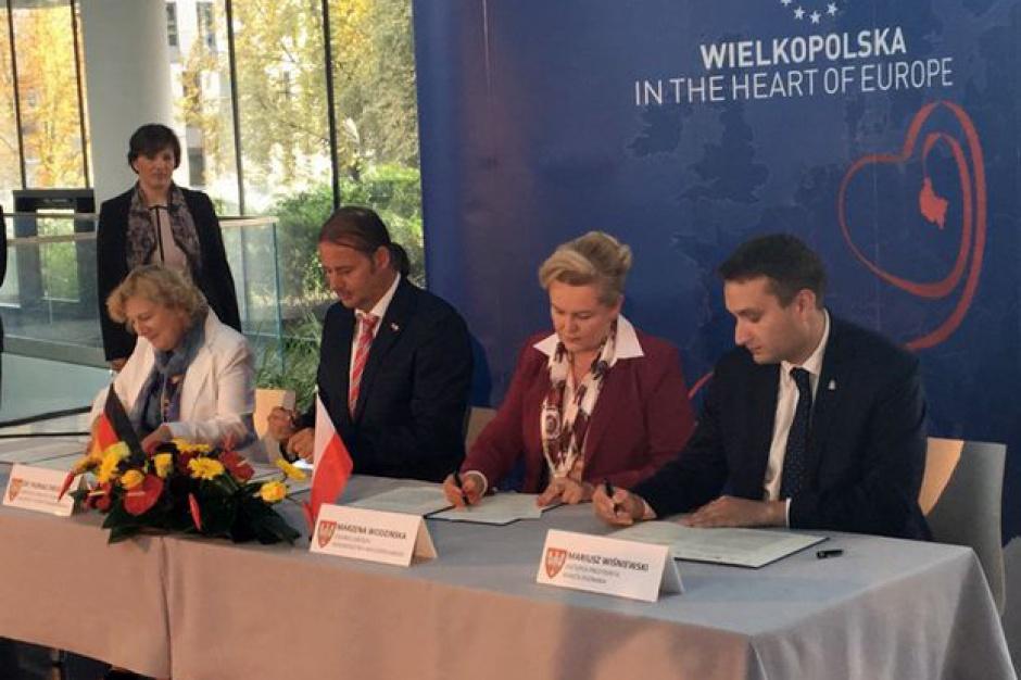 Wielkopolska - Poznań - Brandenburgia: Podpisano list o współpracy