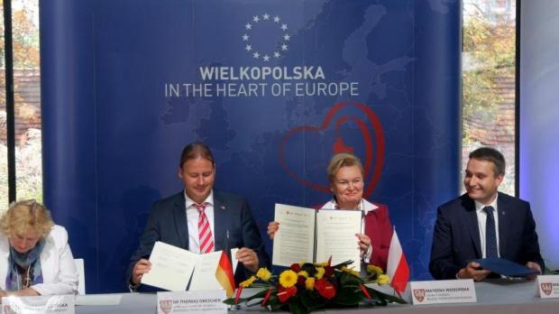 Nie zaprzepaścimy żadnej szansy, by być w samym centrum Europy - zapewnia Marzena Wodzińska, członek zarządu województwa wielkopolskiego (fot.wielkopolskie.pl)