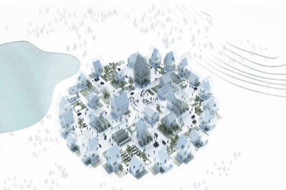 ReGen Village - modułowy pomysł na miasto przyszłości