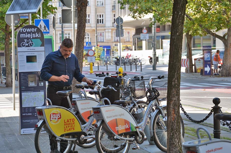 Poznański Rower Miejski bije rekordy frekwencji