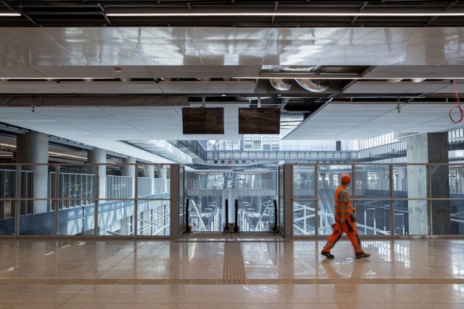 Dworzec Łódź Fabryczna prawie gotowy
