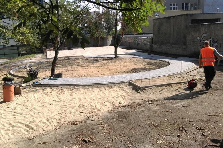Podwórka w Szczecinie coraz bardziej zielone