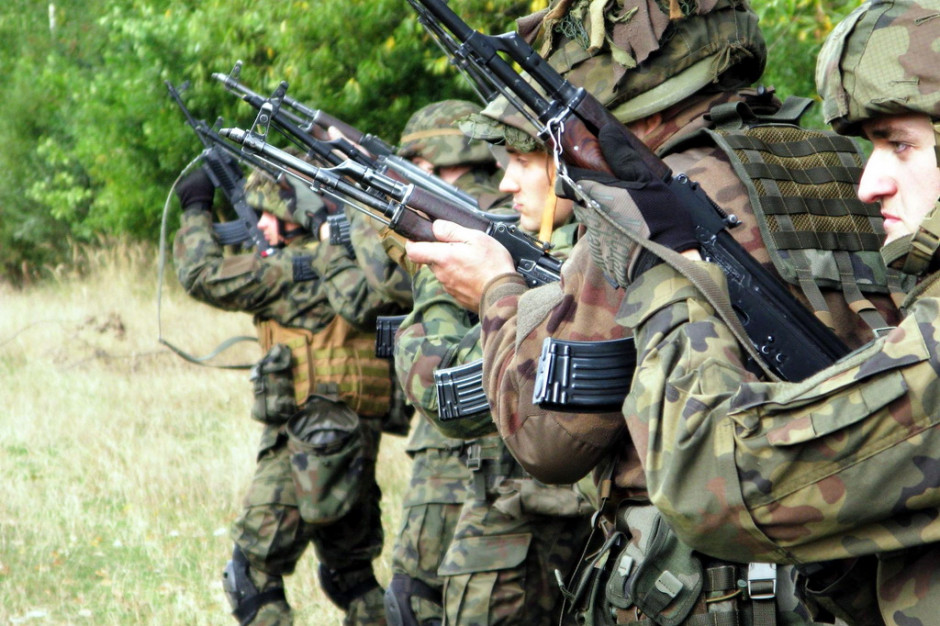W łódzkim szkolenie ochotników Wojsk Obrony Terytorialnej