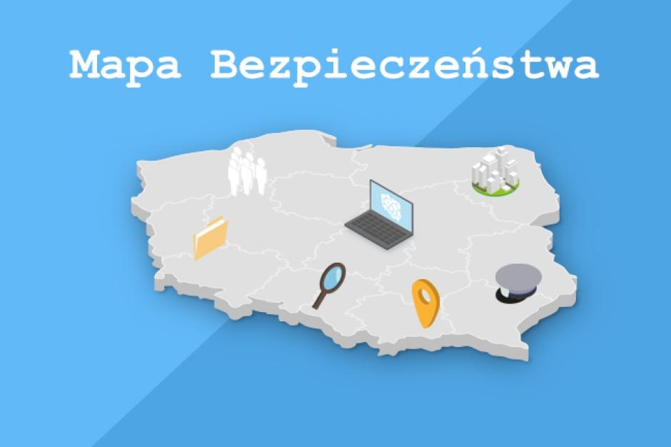 Krajowa Mapa Zagrożeń Bezpieczeństwa: Kolejne regiony mają dostęp do policyjnych statystyk