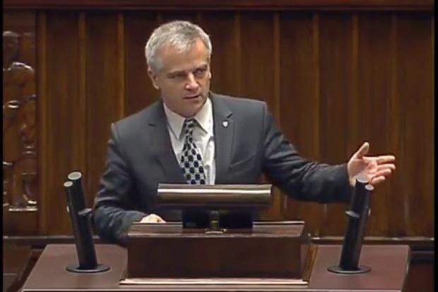 Szef sejmowej komisji samorządowej Andrzej Maciejewski z Kukiz'15 (fot.sejm.gov.pl)