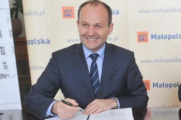 Marek Sowa poseł PO był marszałkiem Małopolski (fot.malopolskie.pl)