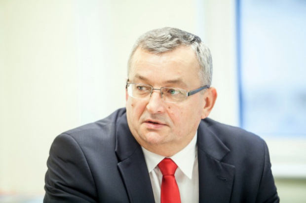 Minister Adamczyk (fot.PTWP)