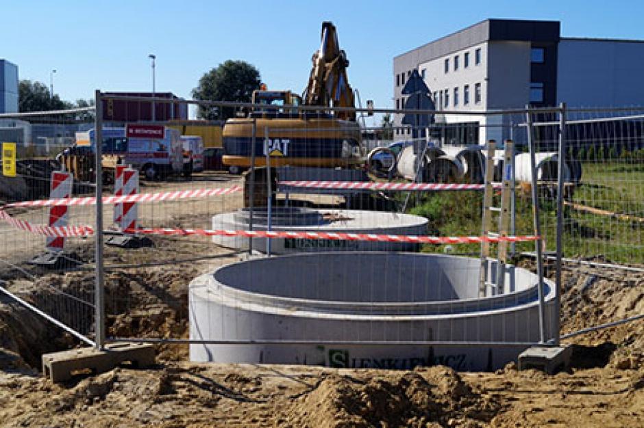Ruszyły prace przy budowie zbiornika w gdańskiej Osowie