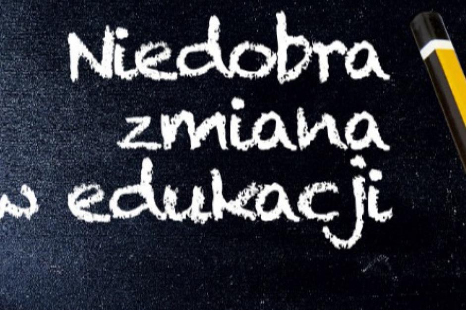 Reforma edukacji i likwidacja gimnazjów: nauczyciele sprzeciwiają się w internecie