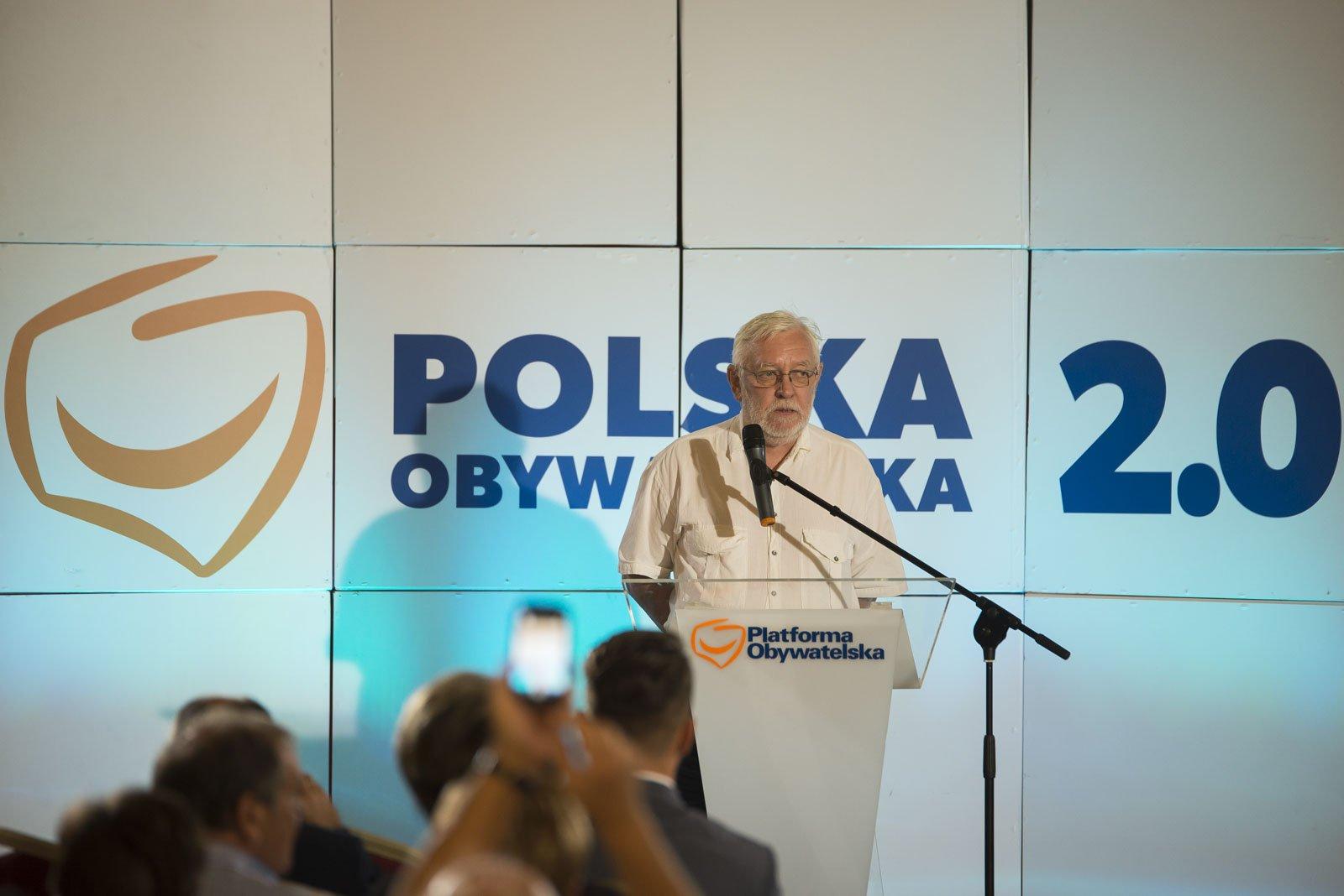 Jerzy Stępień był sędzią Trybunału Konstytucyjnego, a w latach 2006-2008 był jego prezesem. (fot. Twitter)