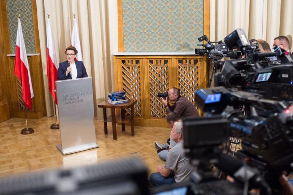 Reforma oświaty: MEN publikuje listę ekspertów odpowiedzialnych za nowe podstawy programowe
