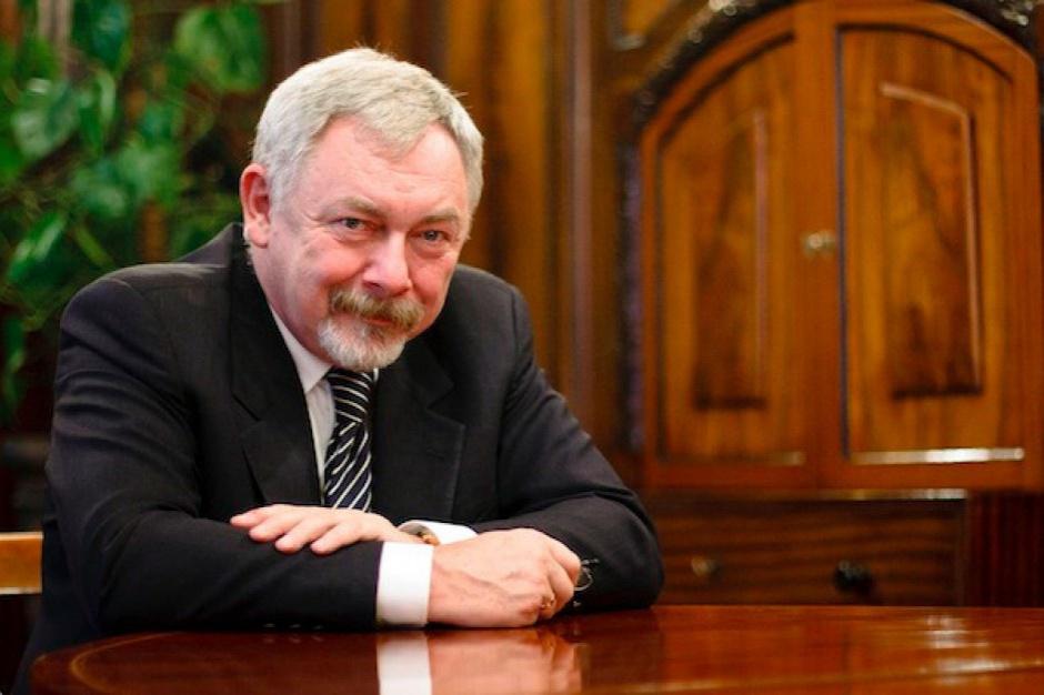 Adam Nawałka u prezydenta Jacka Majchrowskiego