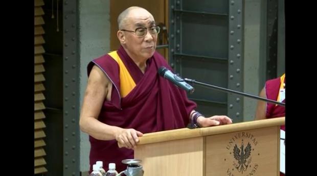 Dalajlama XIV rozpoczął wizytę na Dolnym Śląsku