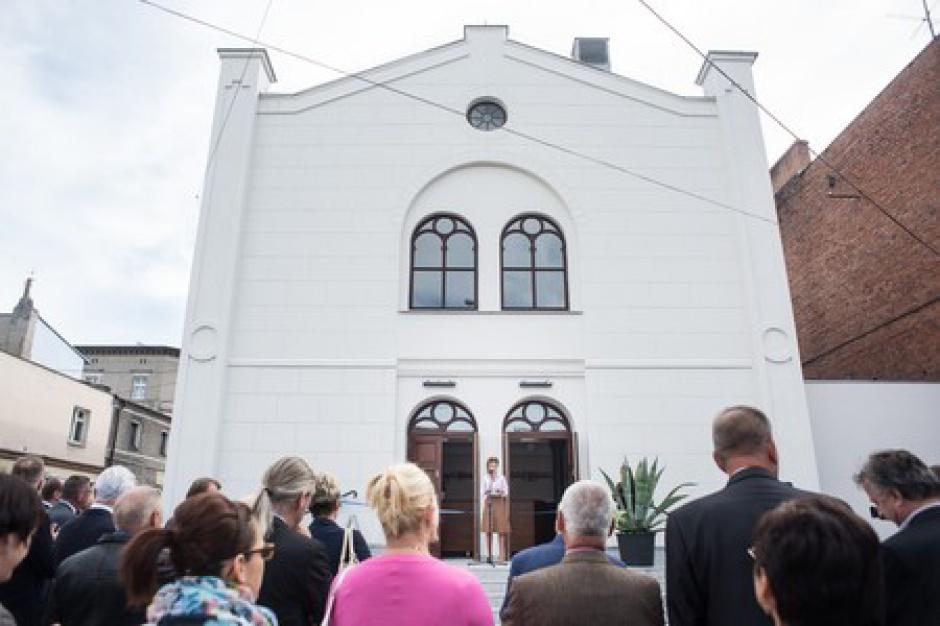Koronowo. Synagoga jak nowa