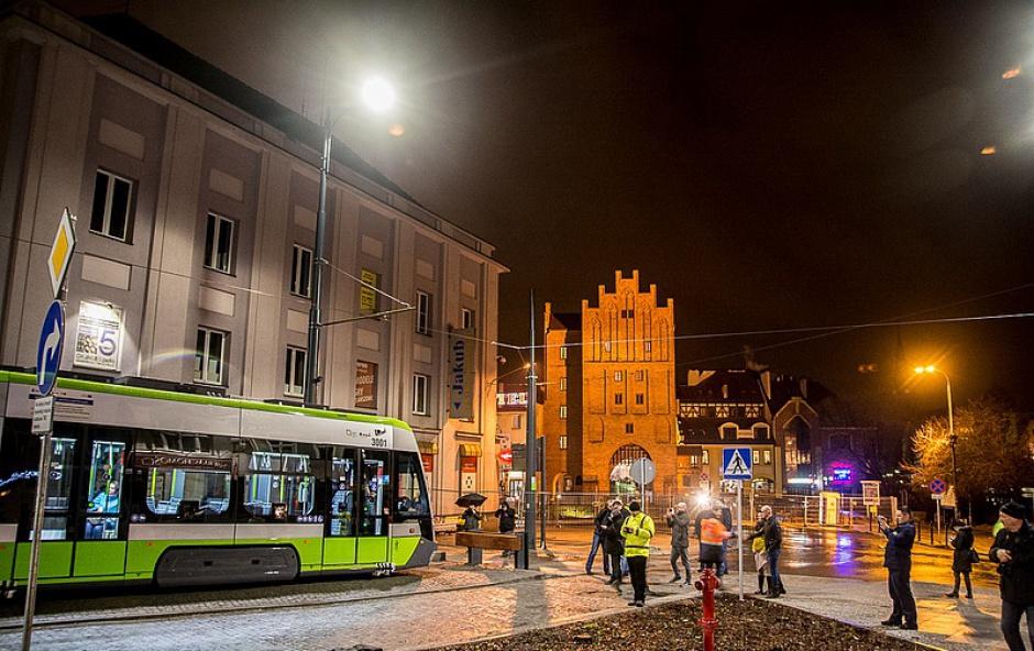 Budowa linii tramwajowych była częścią projektu usprawnienia komunikacji miejskiej. (fot.olsztyn.eu/Marcin Kierul)