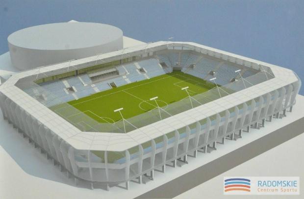 Radom: władze miasta przedstawiły koncepcję nowego stadionu piłkarskiego